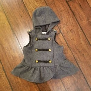 Max Studio hooded vest